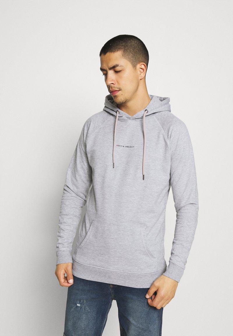 Denim Project - MOJO HOODIE - Sweatshirt - light grey