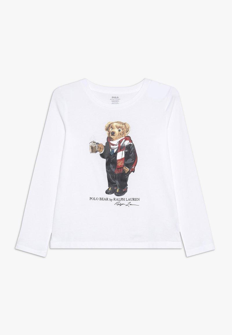 Polo Ralph Lauren - BEAR  - Langarmshirt - white