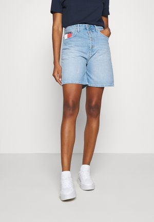 Denim shorts - save light blue rigid
