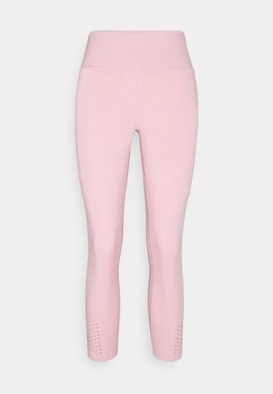 EPIC CROP - Tights - pink glaze/reflective silver