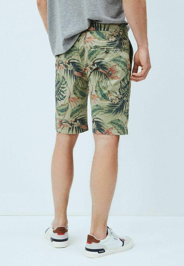 Pepe Jeans Szorty - palm green/zielony Odzież Męska ATLX