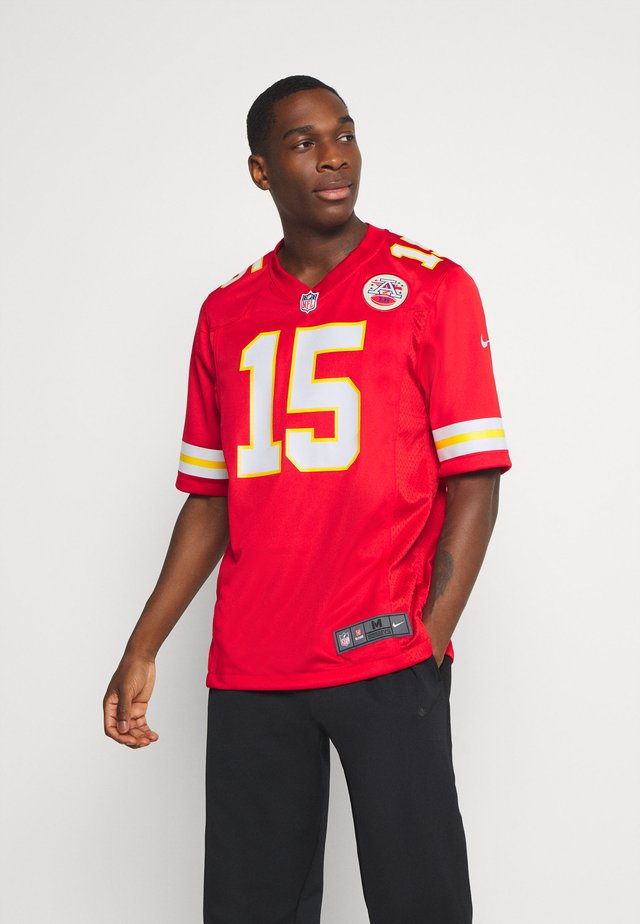 NFL KANSAS CITY CHIEFS PATRICK MAHOMES NIKE GAME TEAM COLOUR  - Club wear - university red