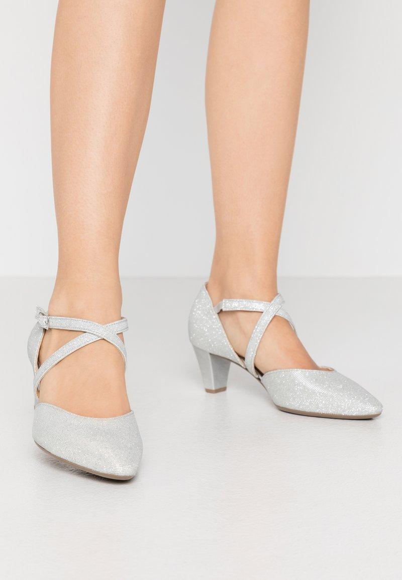 Gabor - Classic heels - silver
