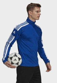 adidas Performance - Zip-up hoodie - blue - 2