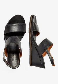 Bianco - Wedge sandals - black - 2