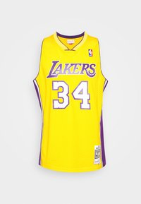 Mitchell & Ness - NBA LOS ANGELES LAKERS SHAQUILLE O'NEAL SWINGMAN - Article de supporter - light gold - 0