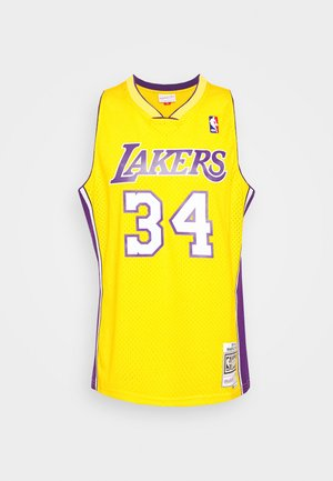 NBA LOS ANGELES LAKERS SHAQUILLE O'NEAL SWINGMAN - Club wear - light gold