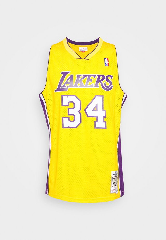NBA LOS ANGELES LAKERS SHAQUILLE O'NEAL SWINGMAN - Equipación de clubes - light gold