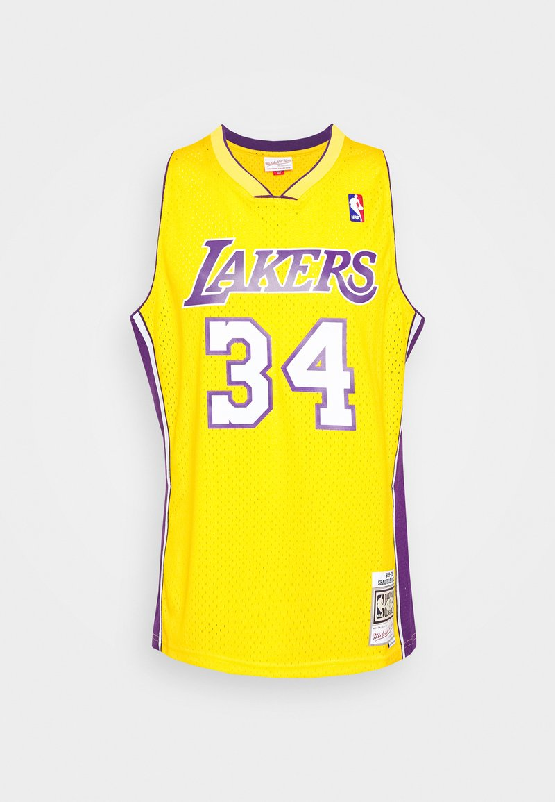 Mitchell & Ness - NBA LOS ANGELES LAKERS SHAQUILLE O'NEAL SWINGMAN - Article de supporter - light gold