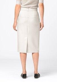 HALLHUBER - Pencil skirt - creme - 1
