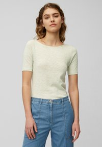 Marc O'Polo - Basic T-shirt - pale mint - 0
