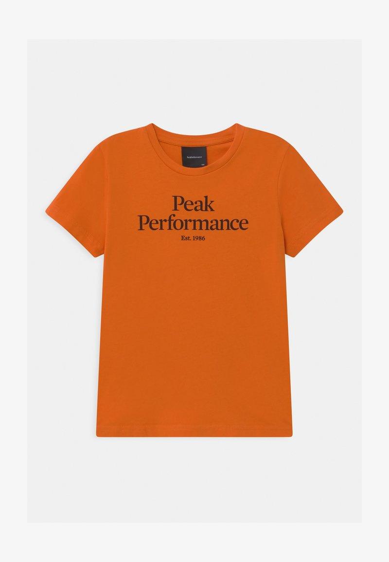 Peak Performance - ORIGINAL COLD BLUSH UNISEX - Triko spotiskem - orange altitude