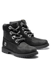 Timberland - CONVENIENCE LACE BOOT - Lace-up ankle boots - black nubuck - 1