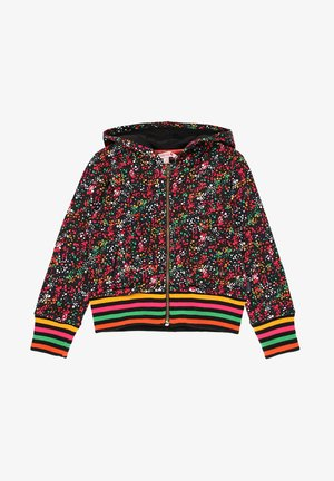 VESTE EN MOLLETON A PETITS POIS POUR FILLE - Fleece jacket - multi coloured