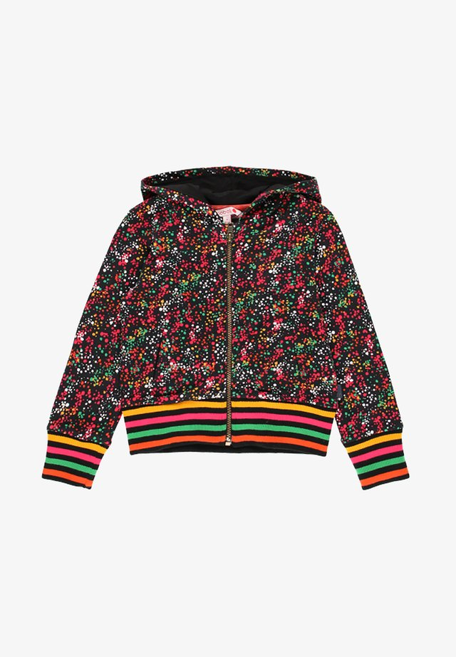 VESTE EN MOLLETON A PETITS POIS POUR FILLE - Fleecejakker - multi coloured
