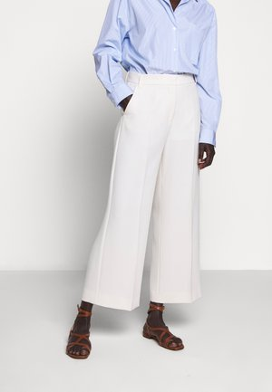 LIEGI - Pantalon classique - ivory