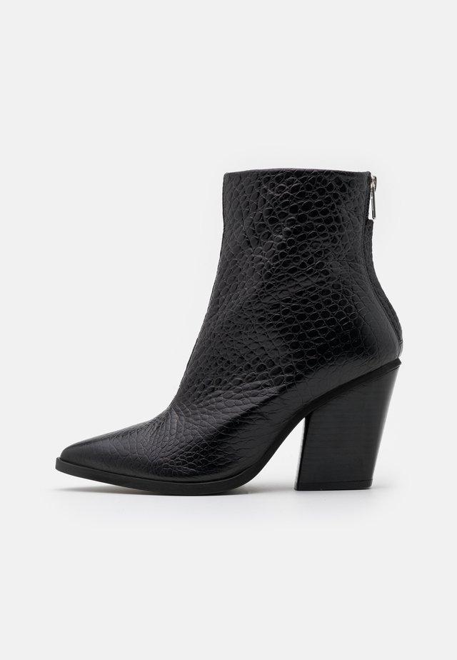 DUPRAT - High heeled ankle boots - noir