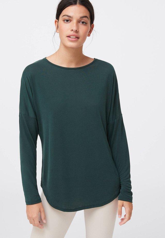 T-shirt à manches longues - evergreen