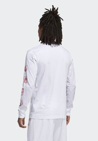 adidas Performance - LIL STRIPE CANNONBALL T-SHIRT - Long sleeved top - white - 2