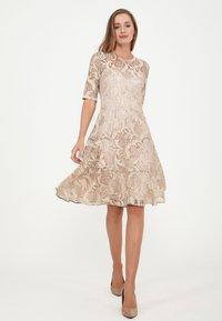 Madam-T - SAPALERI - Cocktail dress / Party dress - beige - 1