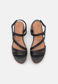 Tamaris GreenStep - Platform sandals - black - 5