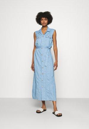 LORI DRESS ANGELINO - Shirt dress - light blue
