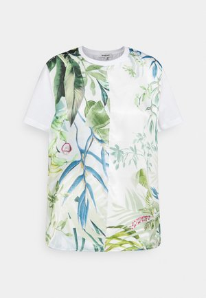 BUDAPEST - T-shirt imprimé - white