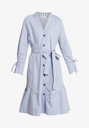 POPLIN - Košilové šaty - zen blue