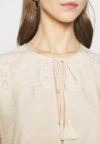 River Island - LUXE SMOCK - Cocktail dress / Party dress - offwhite - 5