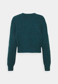 BDG Urban Outfitters - BALLOON SLEEVE JUMPER - Jersey de punto - blue coral - 1