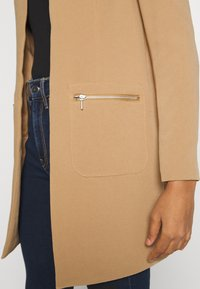 ONLY - ONLLINEA MIRIAM ZIP COATIGAN  - Manteau court - tigers eye - 4