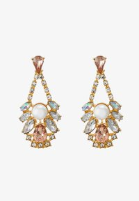 Pieces - DROP EARRINGS - Earrings - gold-coloured/blush - 1