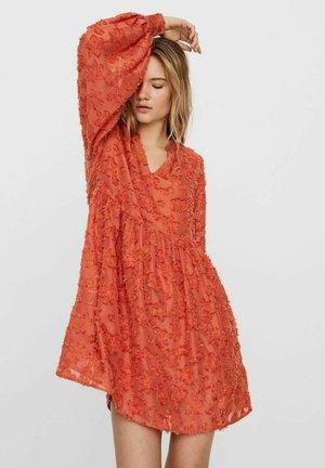 Cocktail dress / Party dress - mecca orange