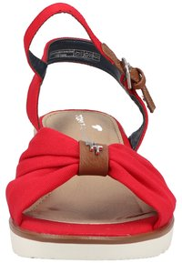 TOM TAILOR - Wedge sandals - red - 6