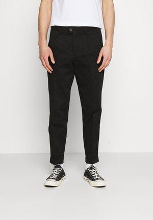 JJIBILL JJBRAD CROPPED - Kalhoty - black