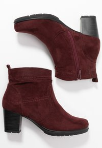Jana - Ankle boots - vino - 3