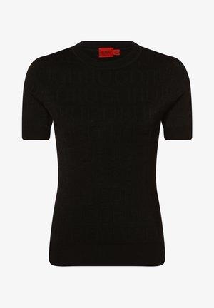 SAMADI - Basic T-shirt - schwarz
