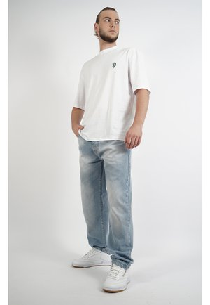 DYNAMITE - Relaxed fit jeans - blue denim