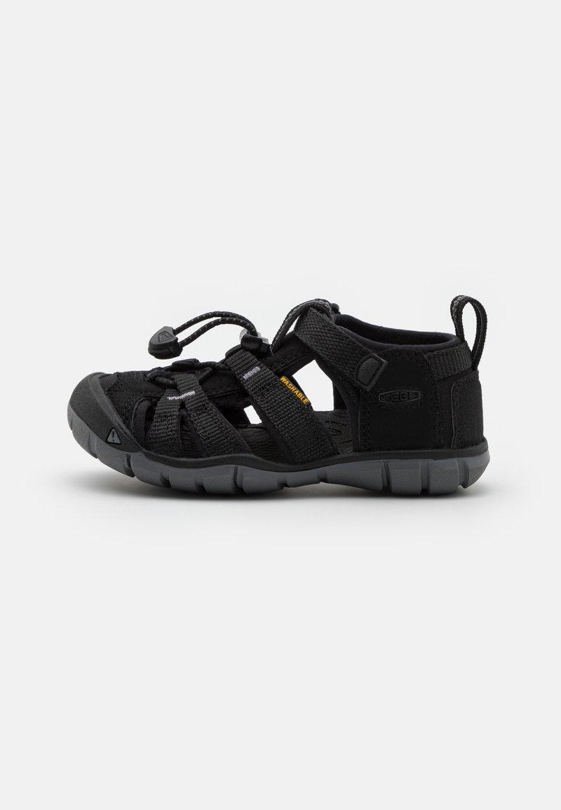 Keen - SEACAMP II CNX UNISEX - Walking sandals - black/steel grey