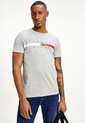 T-shirt z nadrukiem - medium grey heather