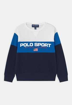 Sweatshirt - white/spa royal