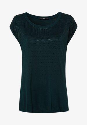 MIT ZIERSTEINEN - Print T-shirt - dark green