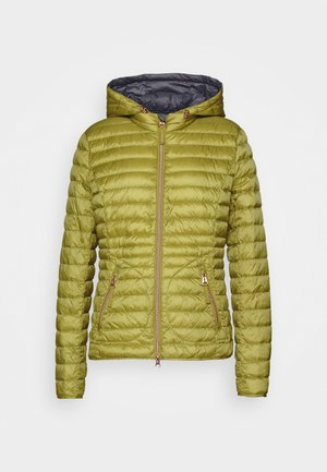 Down jacket - burnished gold