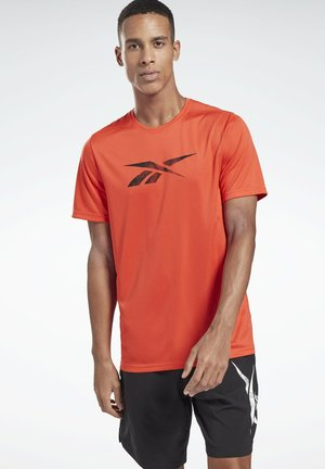 WORKOUT READY GRAPHIC T-SHIRT - Sports shirt - red
