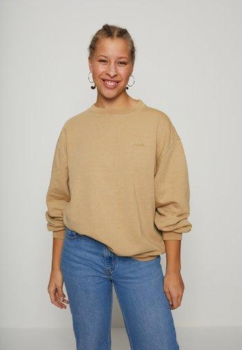 MELROSE SLOUCHY CREW - Sweatshirts - incense garment