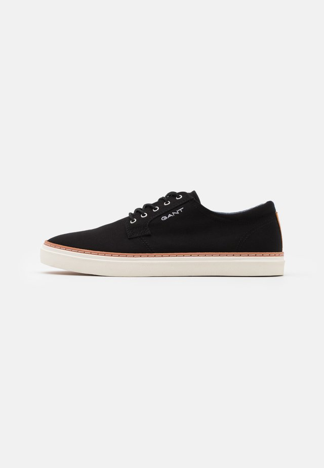 PREPVILLE LACE SHOES - Matalavartiset tennarit - black