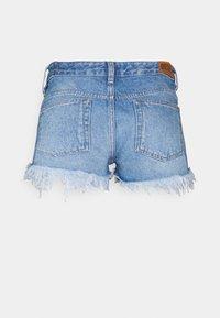 Diesel - DE-RIFTY - Denim shorts - denim blue - 1