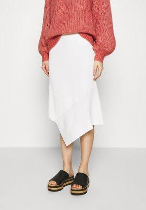 ALVIN LAYER SKIRT - A-line skirt - white
