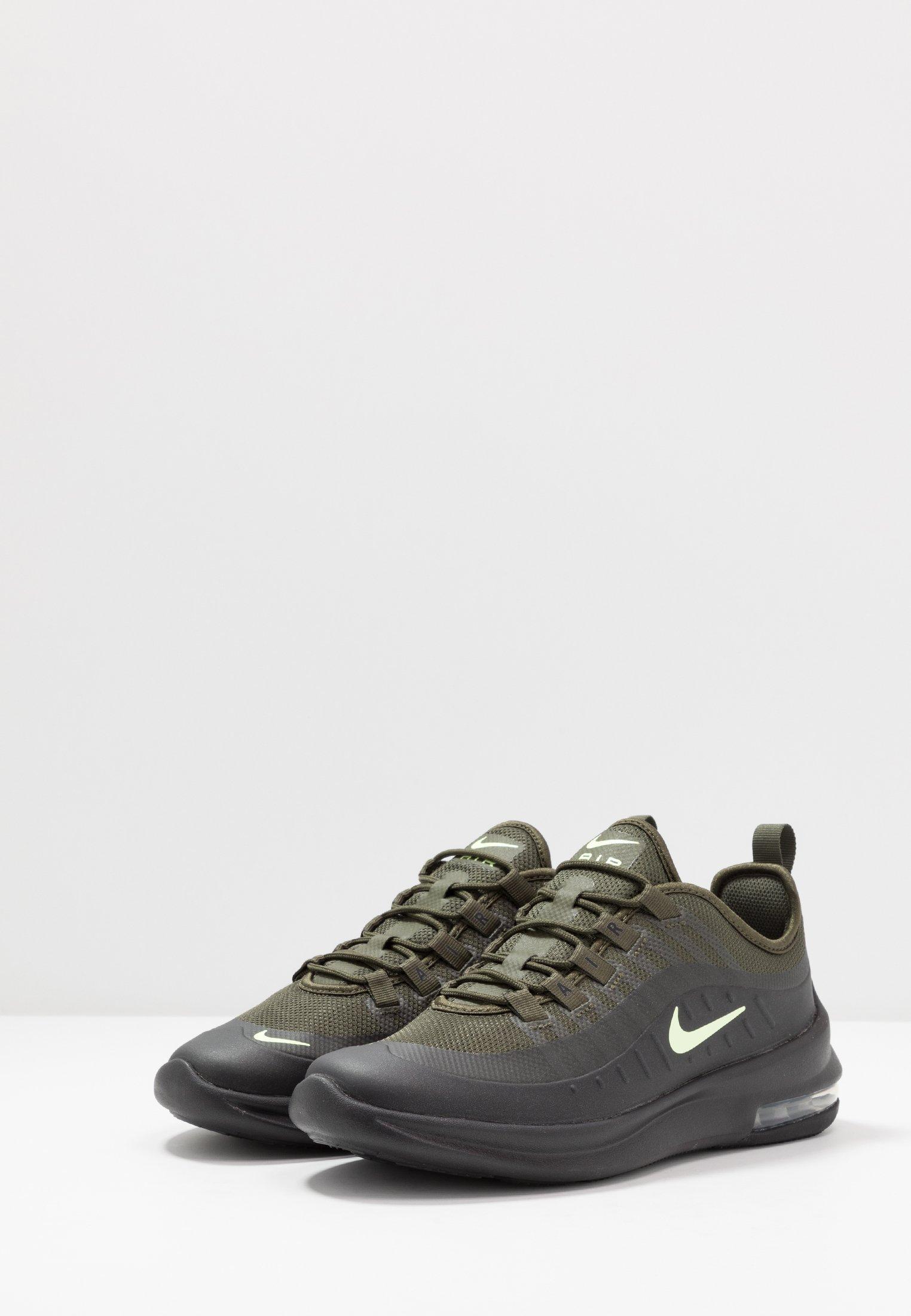 Nike Sportswear AIR MAX AXIS - Trainers - cargo khaki/barely volt ...