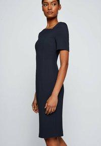 BOSS - DAKERA - Jersey dress - open blue - 4